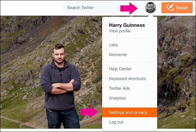 كيفية جعل حساب تويتر محمي (PROTECTED) و إخفاء المتابعين 2