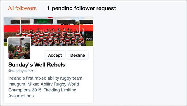 كيفية جعل حساب تويتر محمي (PROTECTED) و إخفاء المتابعين 8