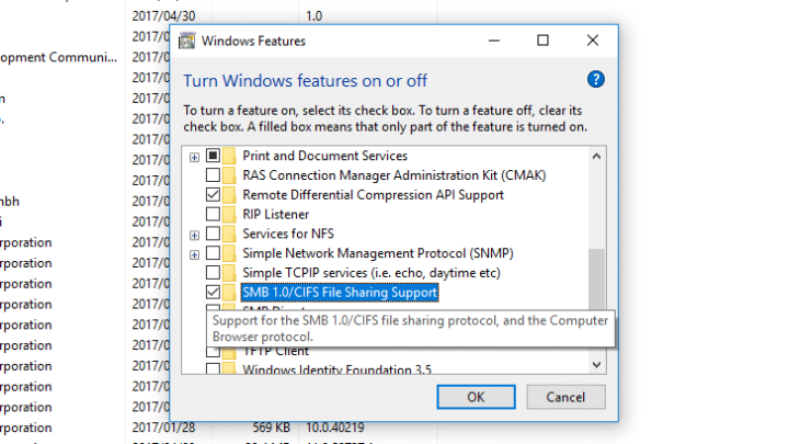 اداه لمنع فيرس WannaCry من اختراق جهازك وتشفير ملفاتك 4
