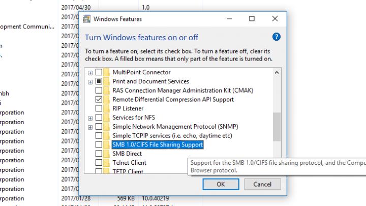 اداه لمنع فيرس WannaCry من اختراق جهازك وتشفير ملفاتك 5