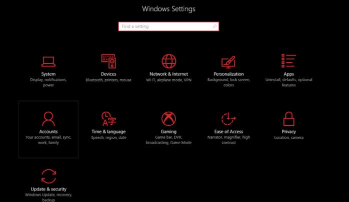 تسجيل الدخول الي ويندوز 10 بدون الحاجه الي حساب مايكروسوفت 1