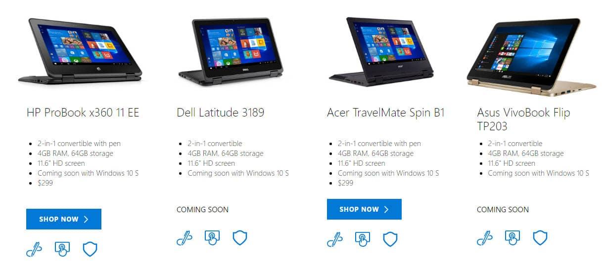 كل ما تريد معرفته عن Windows 10 S الجديد.. منافس نظام Chrome OS 1