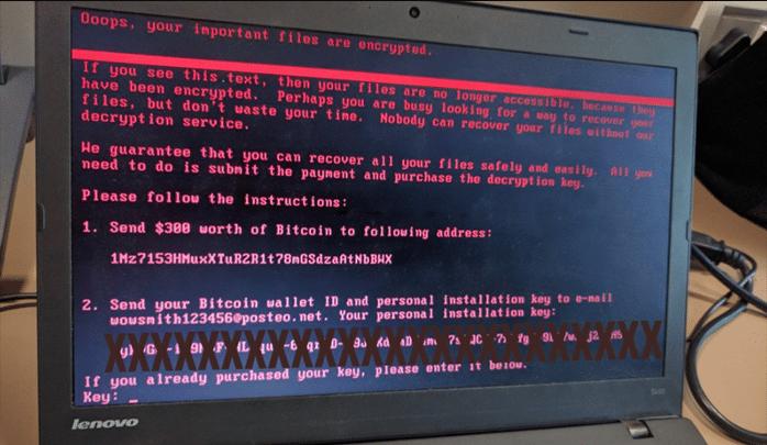 تعرف على فيروس Petya شبيه WannaCry الجديد 2