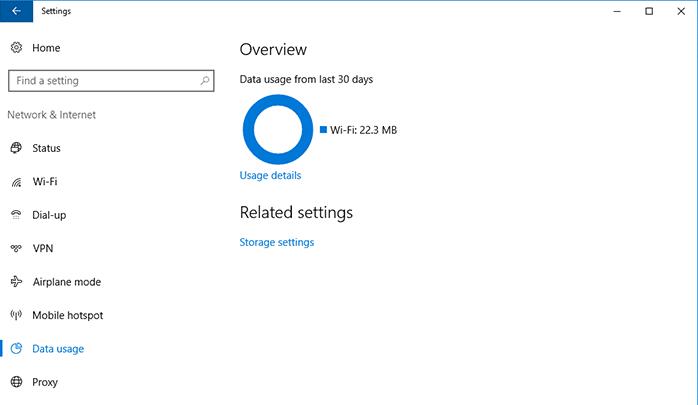 كيف يمكنك إعادة حساب الانترنت المُستهلك على Windows 10
