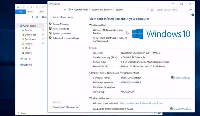 ما هو Windows 10 on ARM و كيف يعمل و ما الذى سوف يفعله
