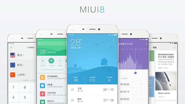 مراجعة واجهة MIUI 8 والتعرف على مميزاتها 1