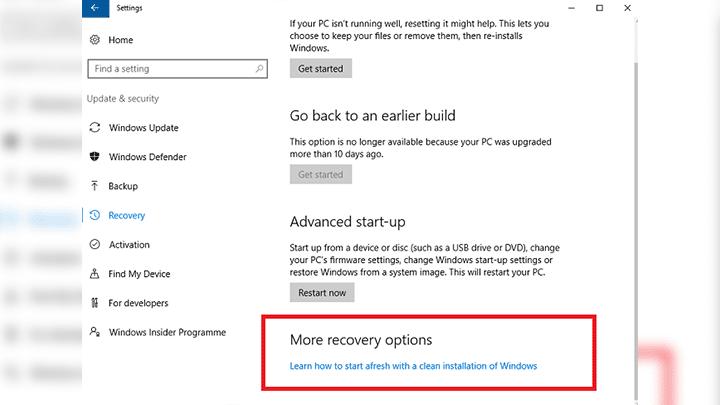 كيفية ازالة التطبيقات الغير لازمة من Windows 10 بإستخدام Windows Refresh Tool 2