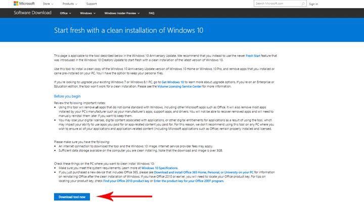 كيفية ازالة التطبيقات الغير لازمة من Windows 10 بإستخدام Windows Refresh Tool 3