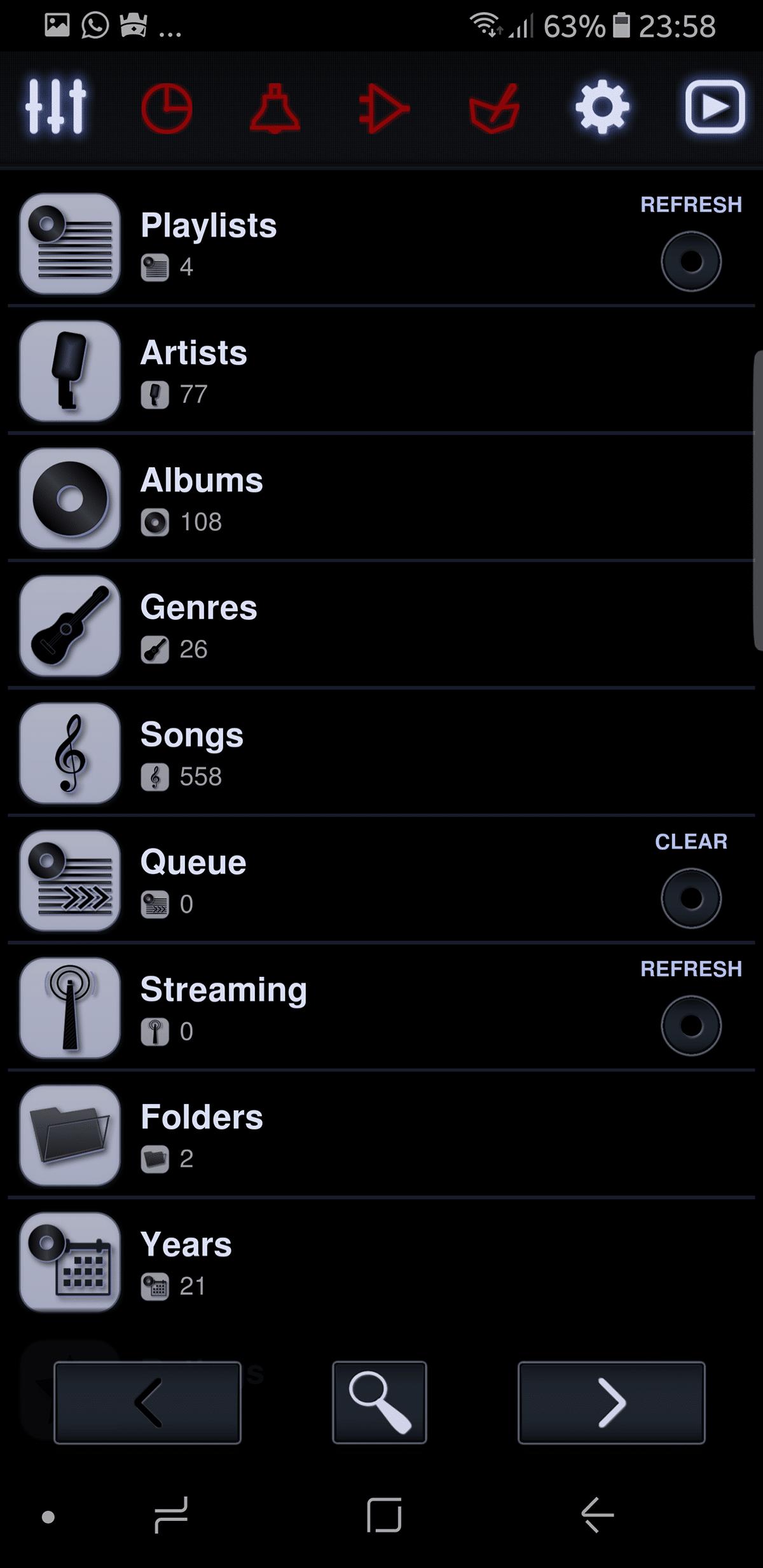 أفضل 10 تطبيقات Music Player لأجهزة الأندرويد 2017 9