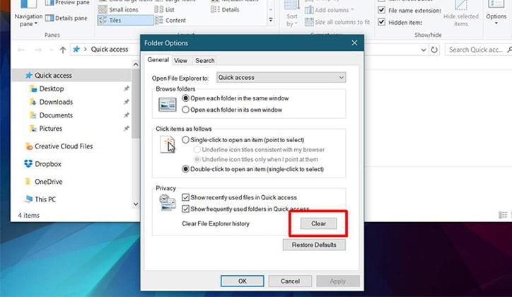 حل مشكلة ظهور رسالة Working On It في ويندوز 10 Windows 3