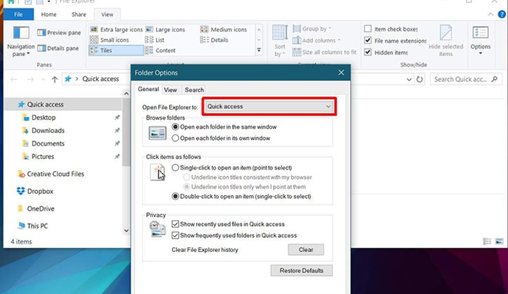 حل مشكلة ظهور رسالة Working On It في ويندوز 10 Windows 2