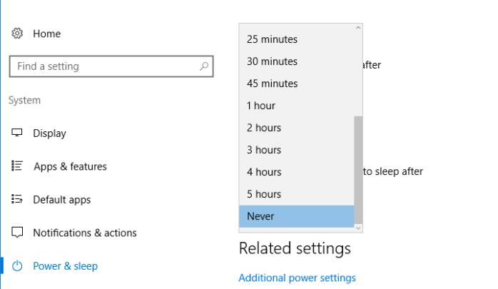 كيفية منع الحاسوب من الدخول فى وضعية Sleep 3