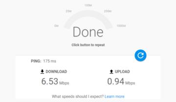 قياس سرعه الانترنت من خلال خدمة جوجل فايبر