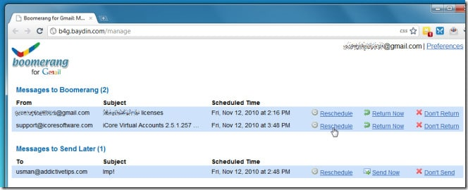 كيفية إرسال و إستلام الرسائل على الـGmail وفقاً لجدول زمني محدد! 3