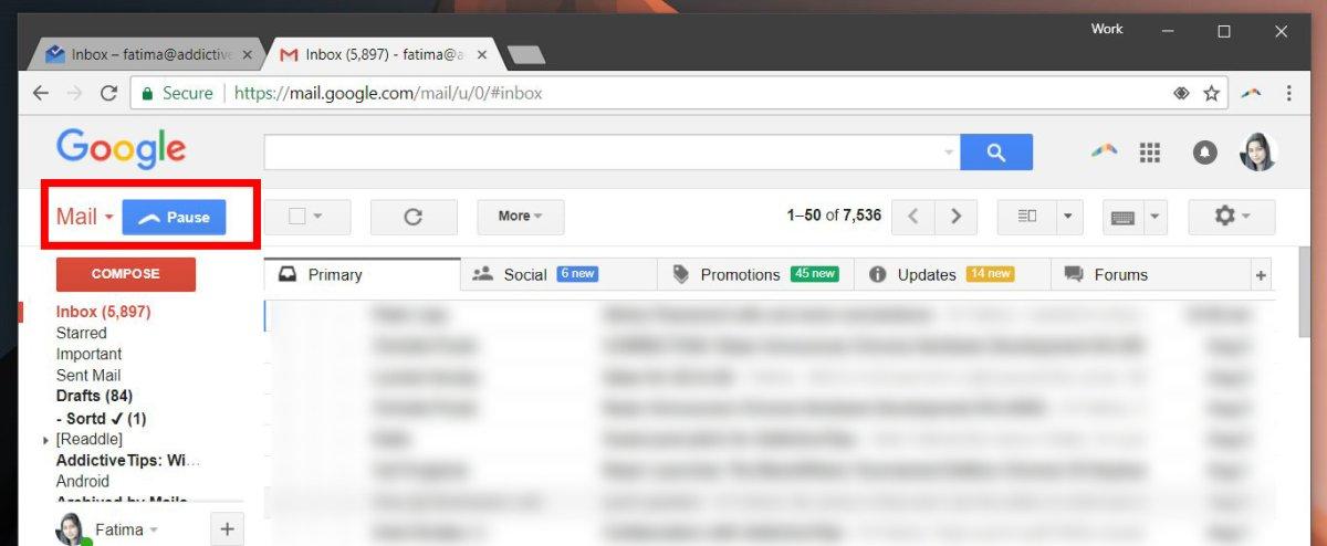 كيفية إيقاف تلقي رسائل الـ Gmail مؤقتاً مع الميزة الجديدة لـ Boomerang 1