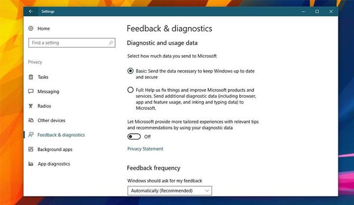 حل مشكلة إستهلاك OneDrive الزائد للمعالج CPU في ويندوز 10 2