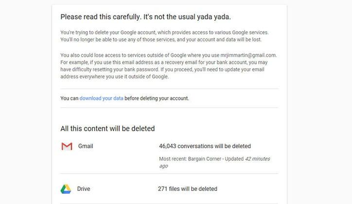 كيفية إستعادة حساب الـGmail الذي تم مسحه! 2