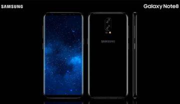 مراجعة شاملة عن هاتف سامسونج نوت  Samsung Galaxy Note 8 الجديد