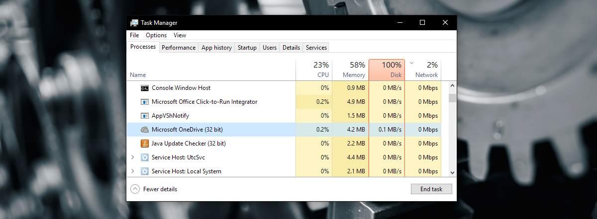 حل مشكلة إستهلاك OneDrive الزائد للمعالج CPU في ويندوز 10 1
