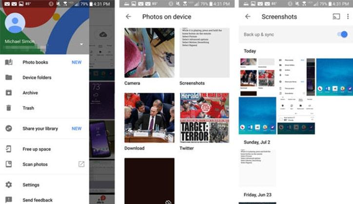 كيفية أخذ صور Screenshot في أي نوع هاتف أندرويد 2