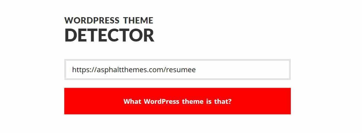 كيفية إيجاد تصميم الورد بريس WordPress الذي يستخدمة موقع معين 1