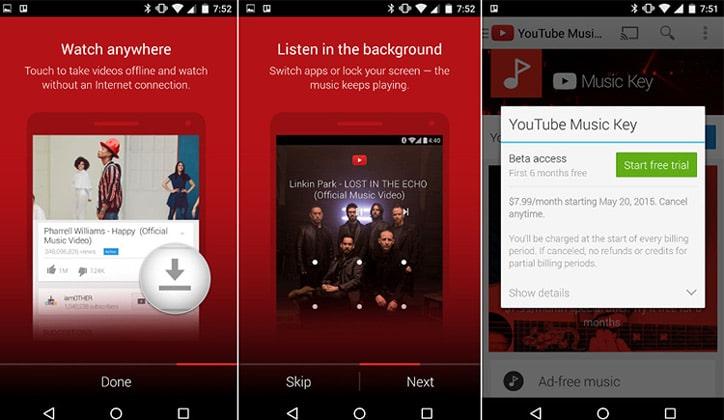 تعرف على أداة YouTube Red الجديدة لأجهزة الأندرويد و الـiOS 3