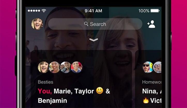 تعرف على تطبيق محادثة الفيديو الجماعي Bonfire الجديد من الفيس بوك 1