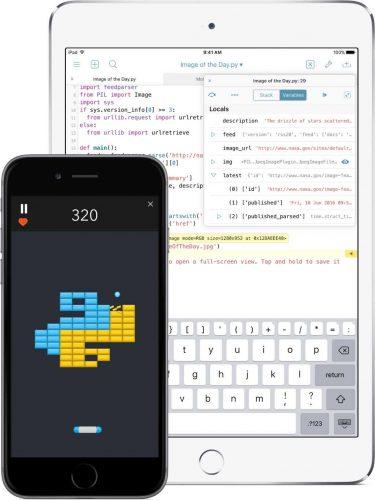 أفضل 5 تطبيقات لبرمجة مواقع الويب لأجهزة الأي أو إس iOS 3