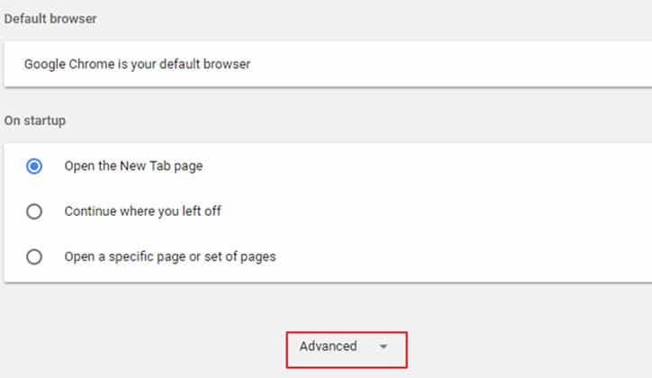 كيفية إيقاف طلب تحديد المكان Location أثناء تصفح المواقع 3