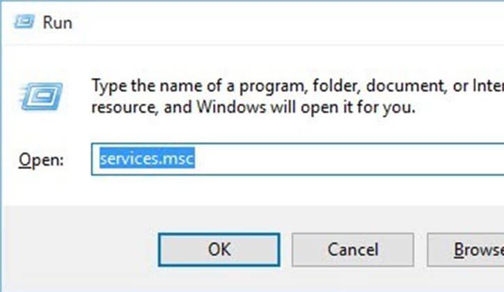 كيفية حل مشكلة توقف شريط البحث Windows Search في ويندوز 10 عن العمل 3