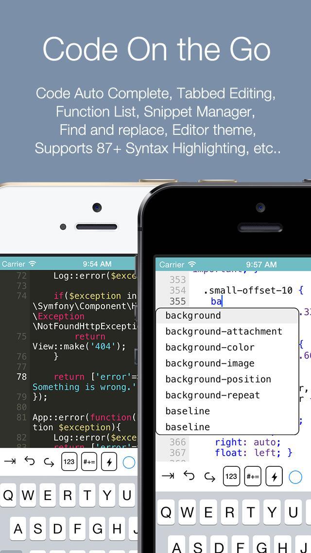 أفضل 5 تطبيقات لبرمجة مواقع الويب لأجهزة الأي أو إس iOS 4