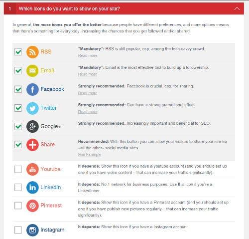 أفضل 7 إضافات Plugins ورد بريس WordPress لمواقع السوشيال ميديا 4
