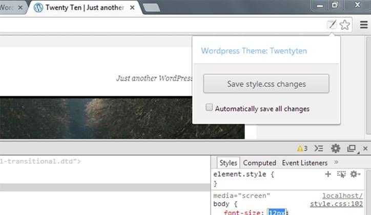 أفضل 10 إضافات Extensions للورد بريس WordPress في متصفح جوجل كروم 4