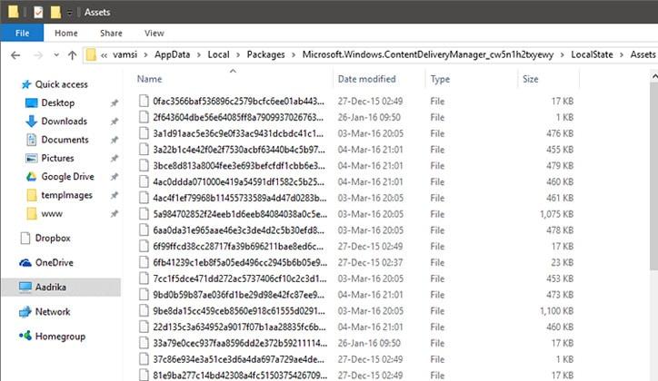 طريقة حفظ صور الـLock Screen في ويندوز 10 Windows 4