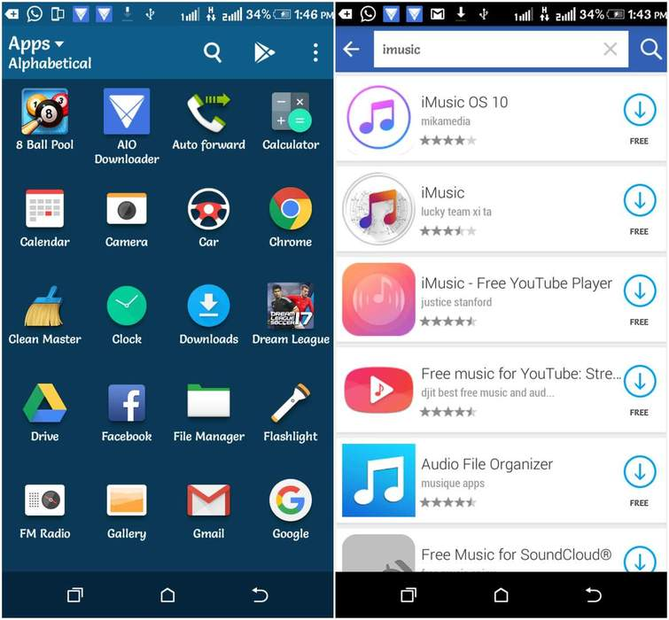 طريقة تشغيل تطبيقات الأي أو إس iOS على أجهزة الأندرويد Android 5