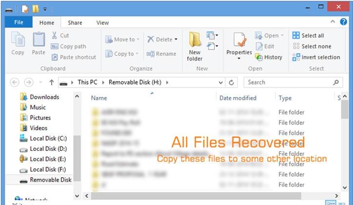 أفضل طريقة لإستعادة الملفات من فايروس Shortcut 4
