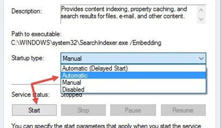 كيفية حل مشكلة توقف شريط البحث Windows Search في ويندوز 10 عن العمل 6