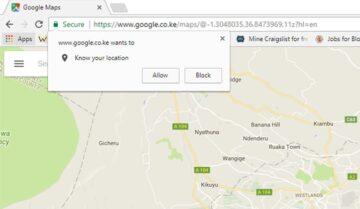 كيفية إيقاف طلب تحديد المكان Location أثناء تصفح المواقع
