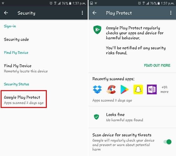 تعرف على الأداة الجديدة Google Play Protect لأجهزة الأندرويد 2