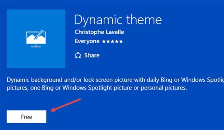 طريقة وضع صورة كخلفية لسطح المكتب و Lock Screen بإستخدام تطبيق Dynamic Theme 2