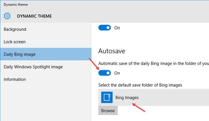 طريقة وضع صورة كخلفية لسطح المكتب و Lock Screen بإستخدام تطبيق Dynamic Theme 8