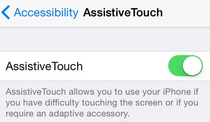 طريقة إضافة Touchscreen Home Button في أجهزة الأيفون و الأيباد 3