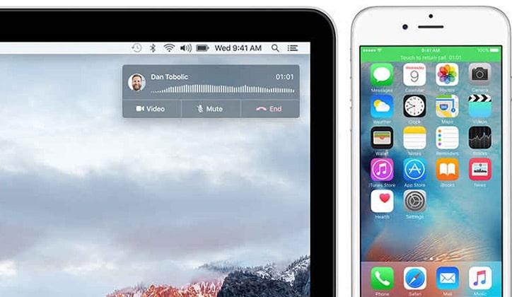 كيفية تلقي المكالمات وتسجيلها على أجهزة الماك Mac 2