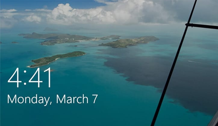 طريقة حفظ صور الـLock Screen في ويندوز 10 Windows 1