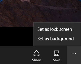 طريقة وضع صورة كخلفية لسطح المكتب و Lock Screen بإستخدام تطبيق Dynamic Theme 6