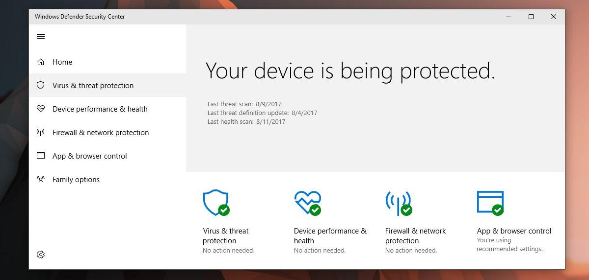 كيفية إغلاق إشعارات تطبيق Windows Defender في ويندوز Windows 10 1