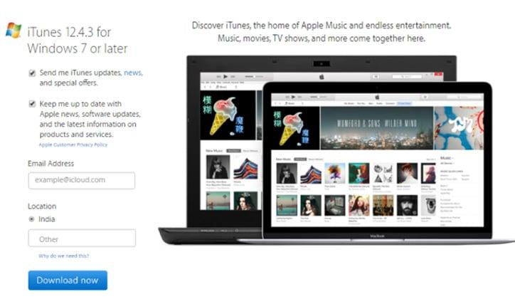 طريقة تحميل واستخدام برنامج iTunes على ويندوز 10 2