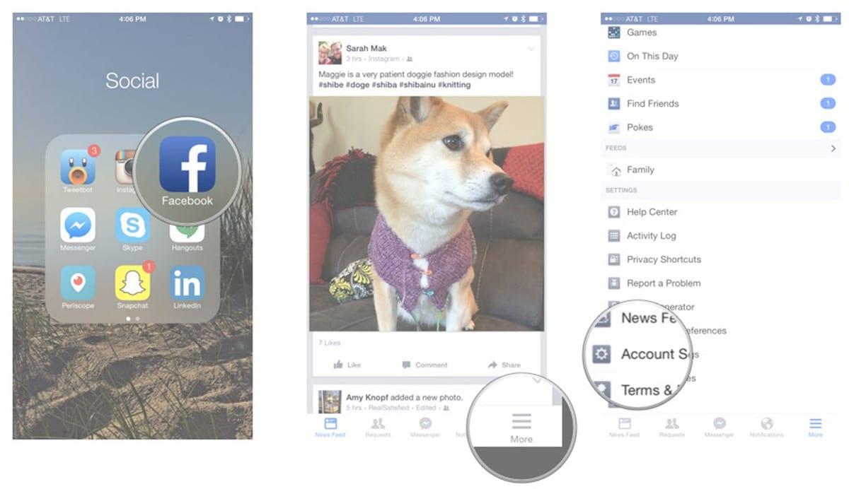 طريقة إيقاف خاصية تحديد الموقع على الفيس بوك Facebook 2