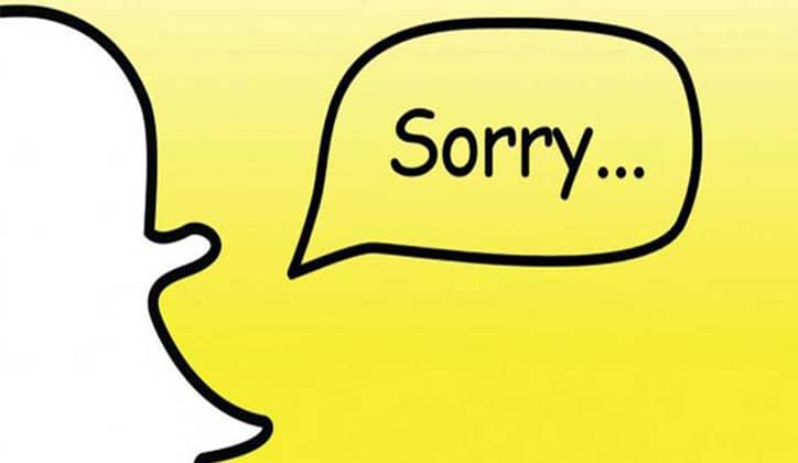 حل مشكلة فشل تسجيل الدخول وتعليق تطبيق السناب شات Snapchat 2