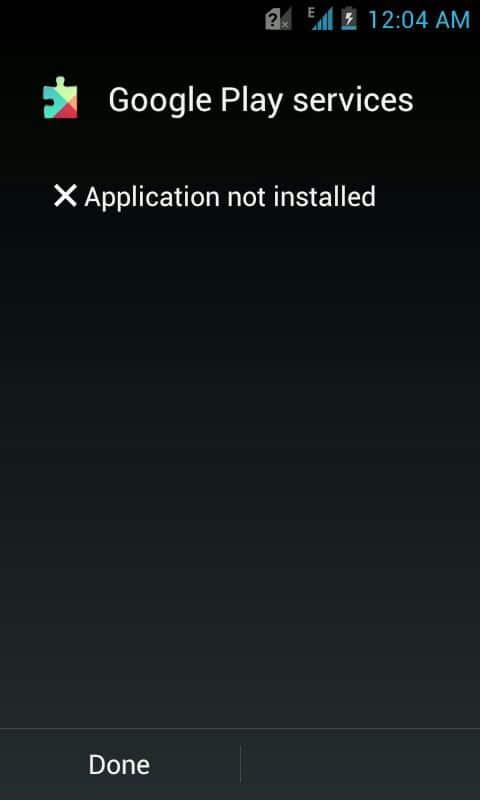 كيفية حل مشكلة التطبيق غير مُثبت Application Not Installed في الأندرويد 2